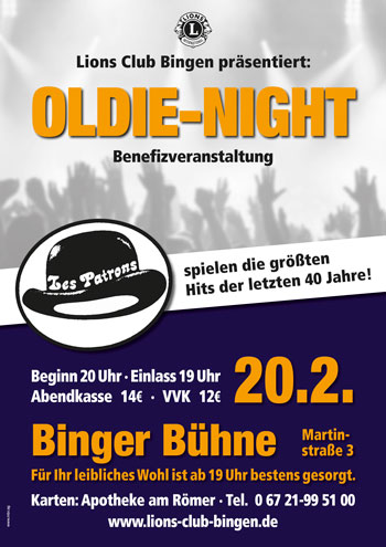Lions-Oldie-Night-Plakat-A3